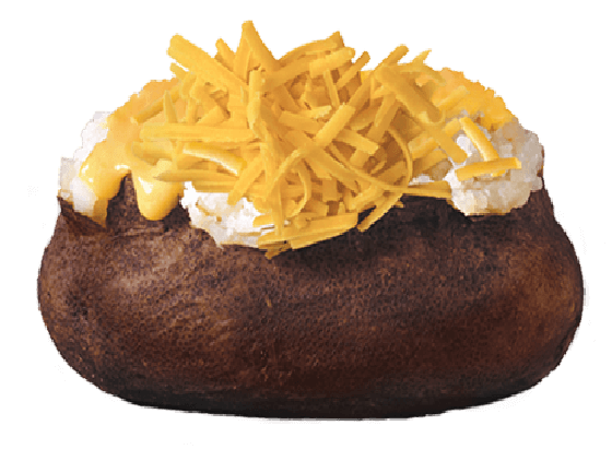 Baked Potato Cheese 'N Cheese