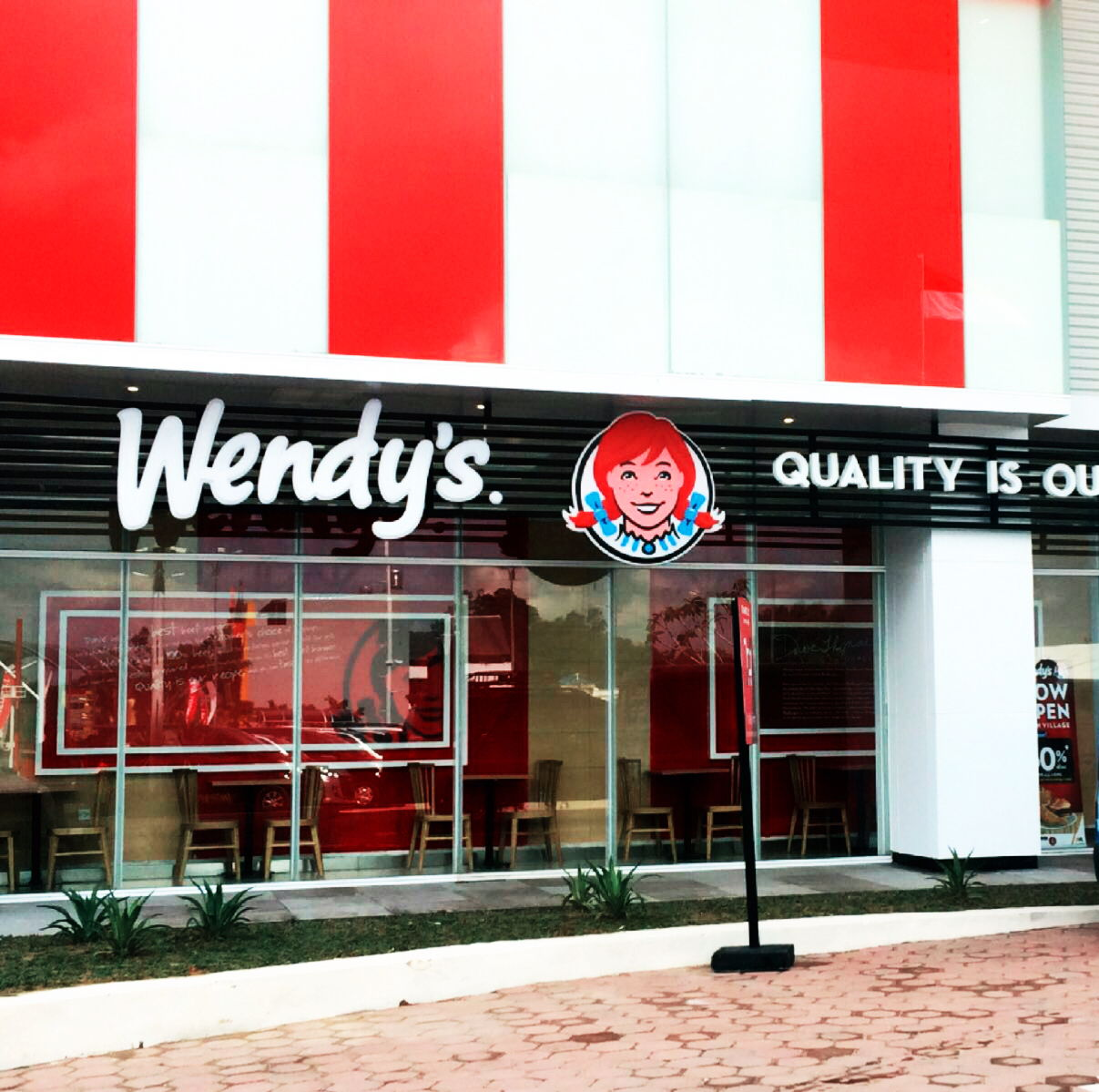 Now Open Wendy's at Daun Village Balikpapan