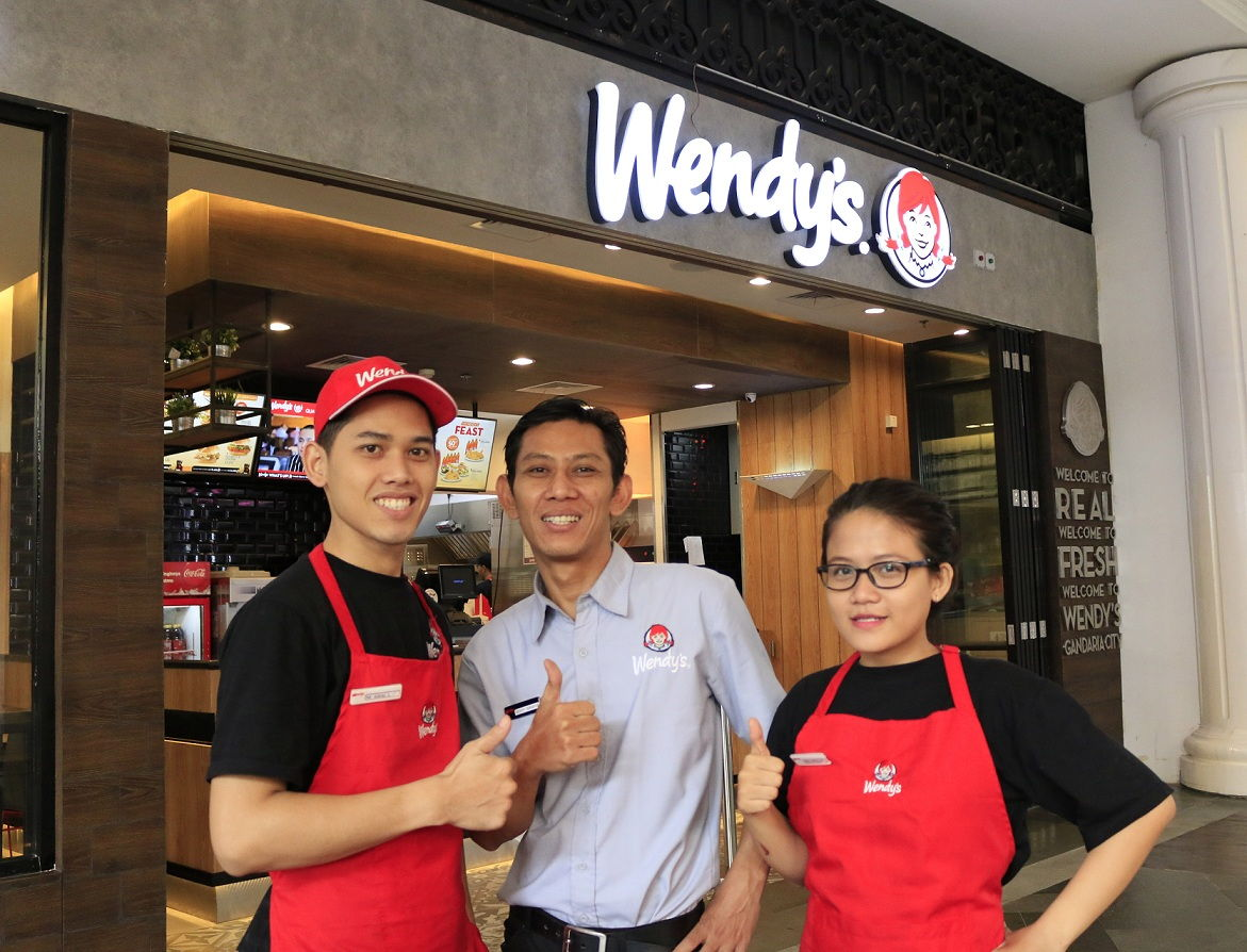 A BRAND NEW LEVEL OF DINING EXPERIENCE AT WENDY'S GANDARIA CITY
